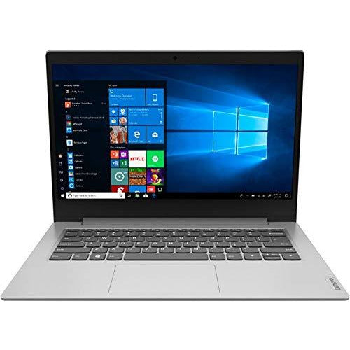 "Lenovo IdeaPad 1 14"" Laptop AMD A6-Series 4GB RAM Memory 64GB eMMC Platinum Gray"
