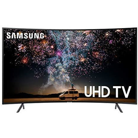 Samsung UN55RU7300FXZA Curved 55-Inch 4K UHD 7 Series Ultra HD Smart TV with HDR & Alexa Compatibility (2019 Model)