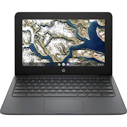 "HP 11.6"" Chromebook Intel Celeron 4GB Memory 32GB eMMC Flash Memory Ash Gray"