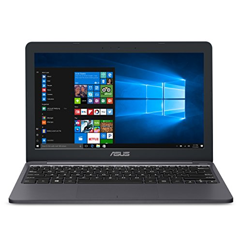 "Asus VivoBook E12 11.6"" HD Laptop Celeron 4GB 64GB Star Grey One Year Of Microsoft 365"
