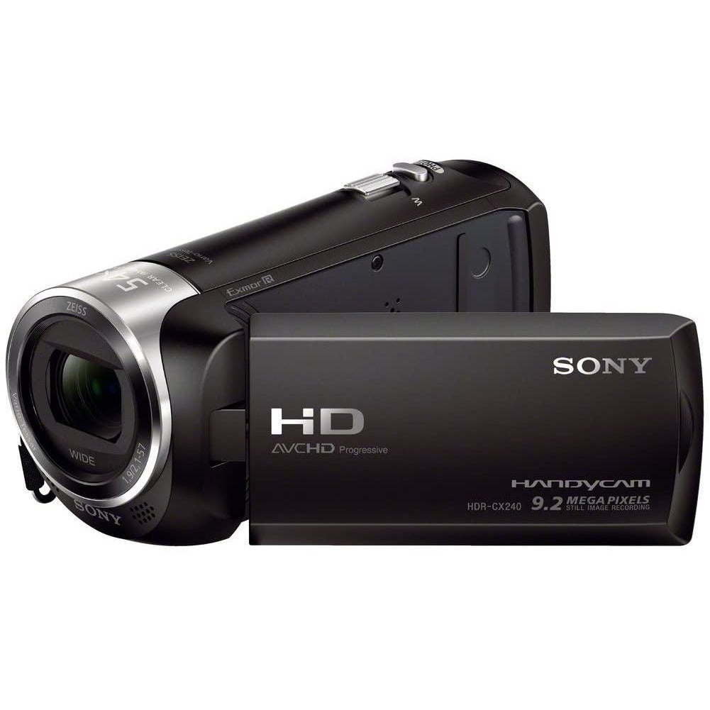 Sony HDRCX240/B Video Camera with 2.7-Inch LCD Black
