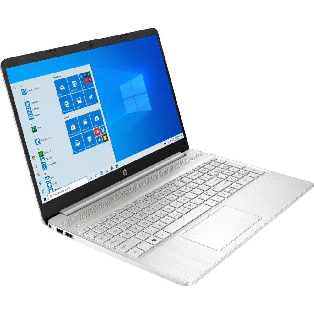 "HP 15-EF0023DX 15.6"" Touch-Screen Laptop AMD Ryzen 5 12 GB Memory 256 GB SSD Natural Silver"