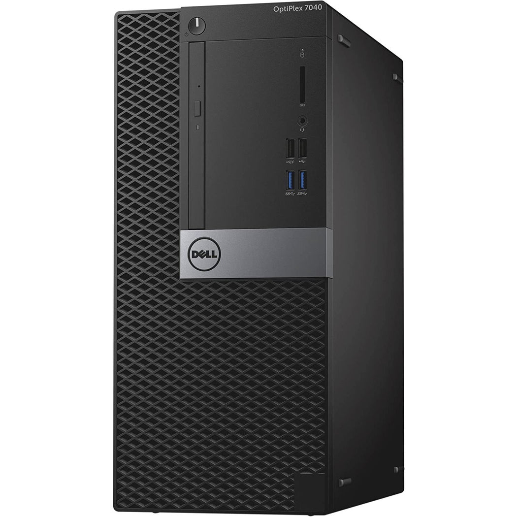 Dell OptiPlex 7040 MT Intel Core i5 3.30 GHz 16 GB RAM 1 TB SSD Windows 10 Pro