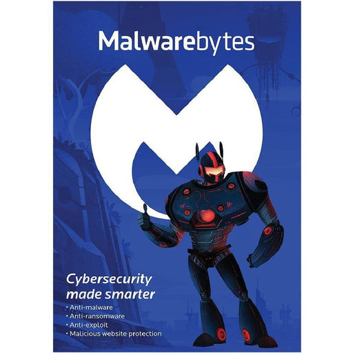 Malwarebytes Premium 3 Device 1 YR (PC, Mac, Android) Retail Box
