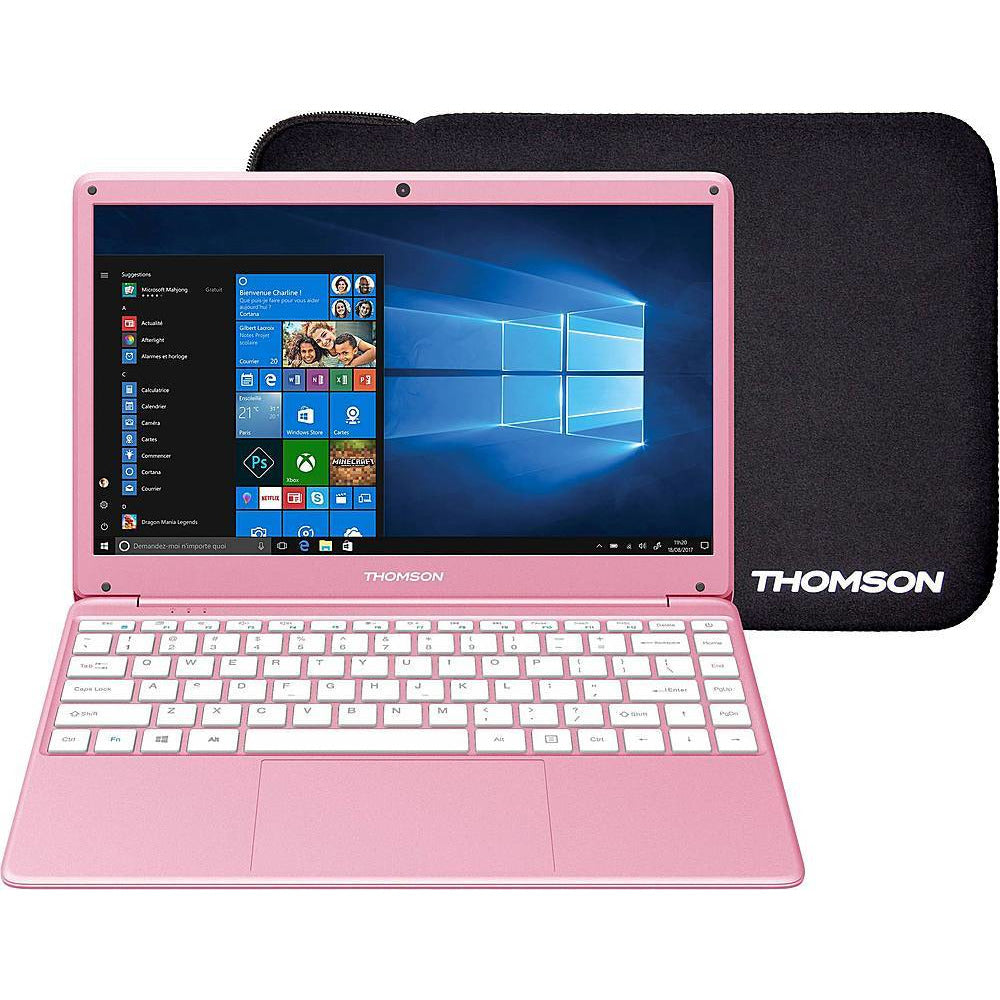 "Thomson NEO X 14.1"" Laptop Intel Celeron 4GB Memory 64GB eMMC Rose Gold"