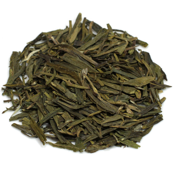 organic Lung Jing Dragonwell loose green tea
