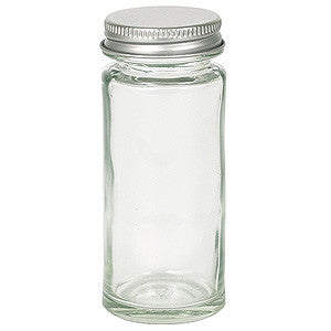 Threaded Neck Spice Jar (with cap) - Sullivan Street Tea & Spice Company