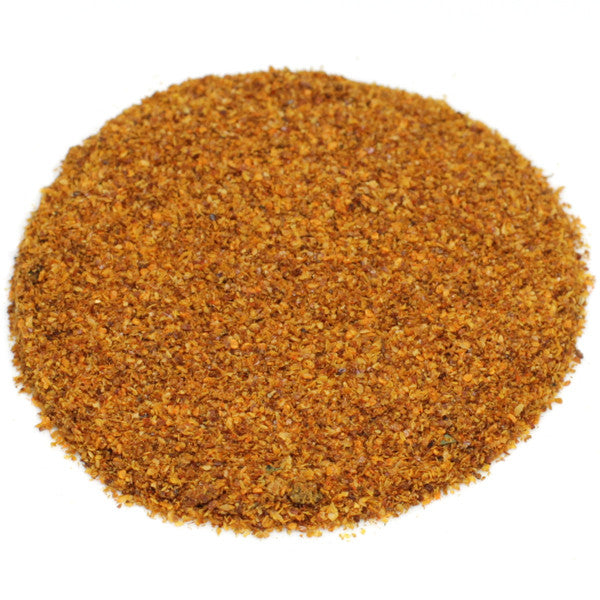 Organic bird's eye chili powder.