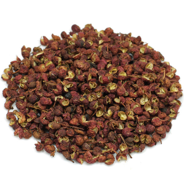 organic Szechuan whole pepper