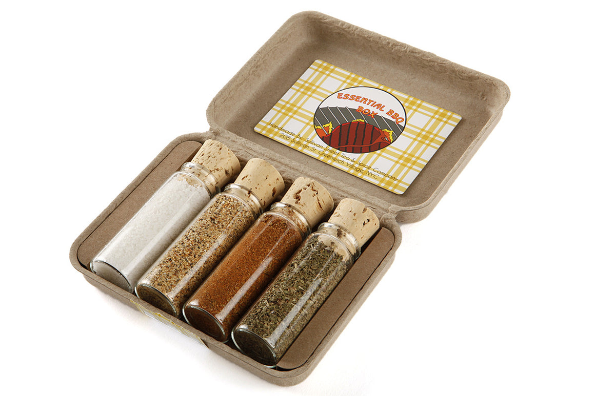 Essential BBQ spice box gift set