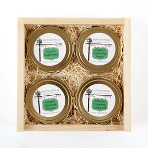 organic green tea gift set