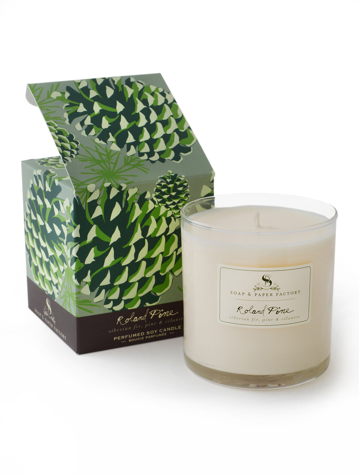Roland Pine Large Soy Candle - Sullivan Street Tea & Spice Company