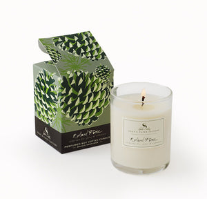 Roland Pine Votive Soy Candle - Sullivan Street Tea & Spice Company