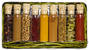organic Indian spice sampler gift set