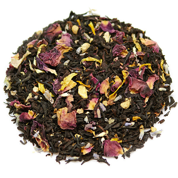 organic Winter Rose loose tea blend