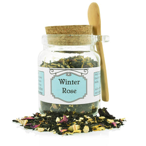 Winter Rose Gift Jar - Sullivan Street Tea & Spice Company