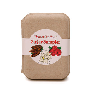 Flavored sugar gift set
