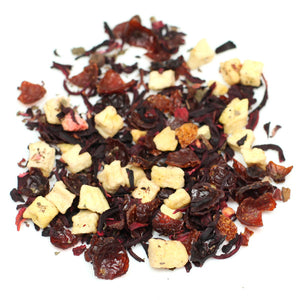 Wild strawberry herbal tea blend