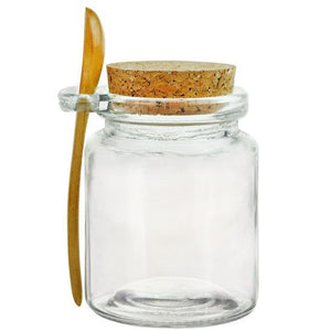 Recycled Glass Jar With Spoon - Sullivan Street Tea & Spice Company