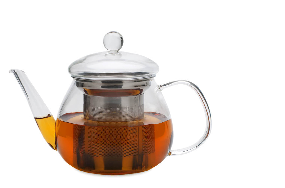 Glass Tea Pot - Petit (Adagio) - Sullivan Street Tea & Spice Company