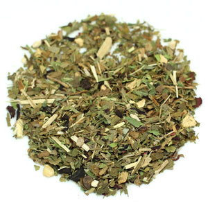 Organic memory enhancement herbal tea blend
