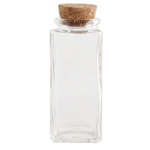 Rectangle Spice Jar w/ Cork Lid - Sullivan Street Tea & Spice Company