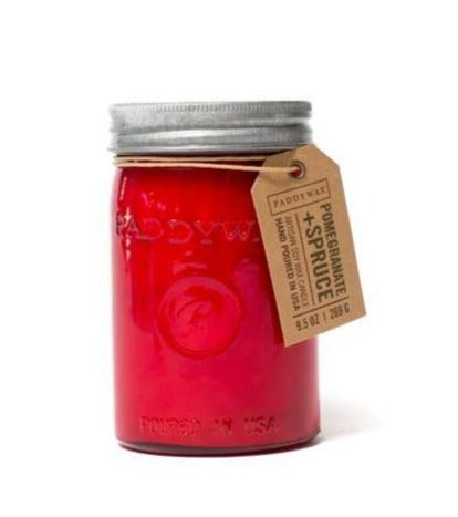 Relish - Pomegranate + Spruce Soy Candle - Sullivan Street Tea & Spice Company