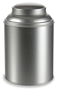 Steel Interior lid tea canister