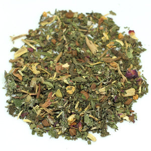organic herbal tea blend caffeine-free
