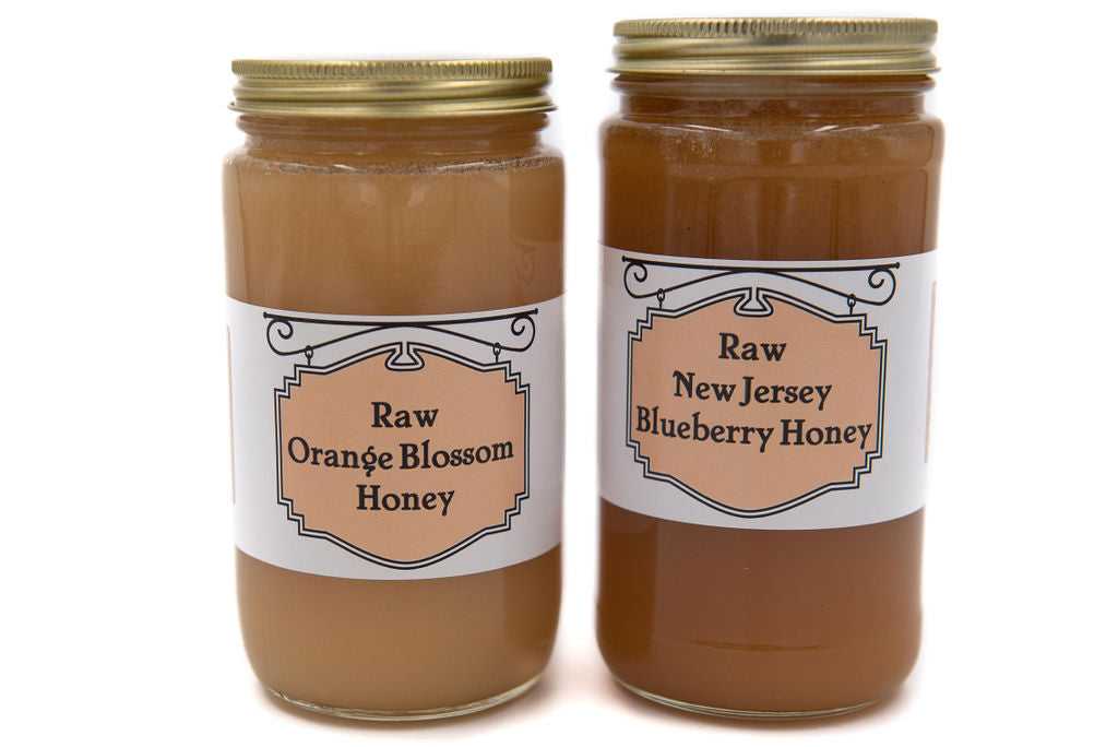 Raw Blueberry Honey