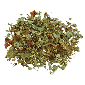 Mystic Mint mint and holy basil herbal tea blend