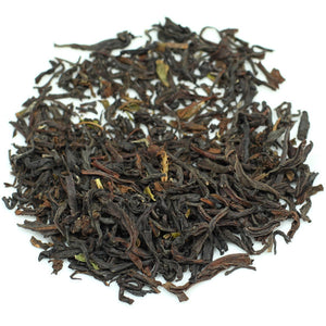 organic black loose leaf tea blend