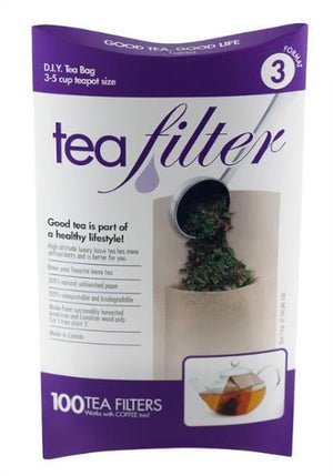 unbleached paper tea filters