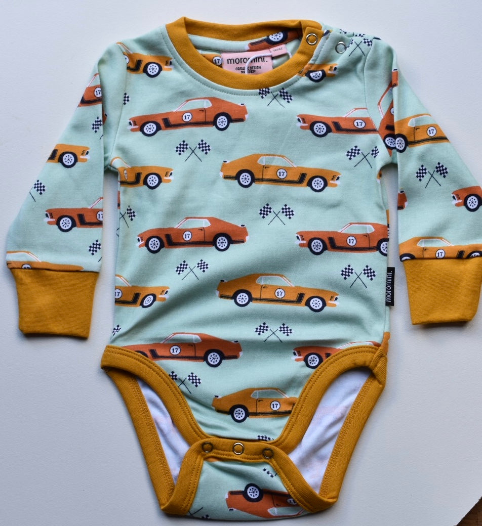 Moromini Organic 70's Dream Bodysuit Long sleeve