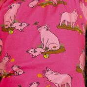 Coddi & Womple Poppy the Pig T-Shirt Pink short sleeve