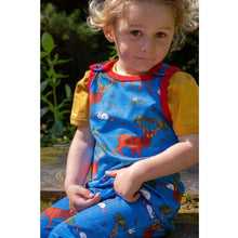 Load image into Gallery viewer, Coddi & Womple Cedar in the Berry bush Dungarees