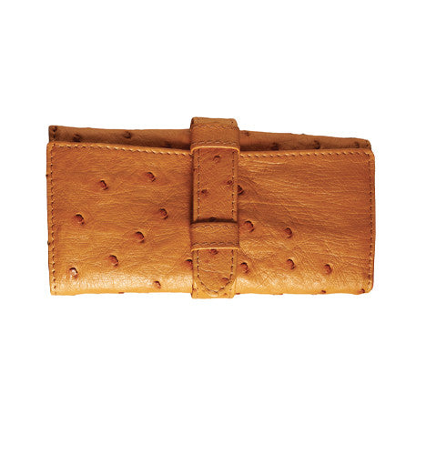 Ostrich Leather Jewel Case