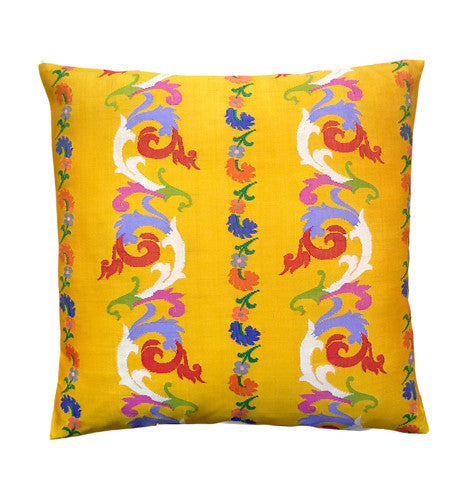 Burmese Silk Pillow