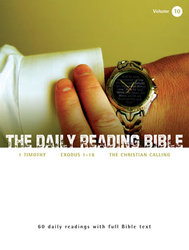 The Daily Reading Bible (Volume 10)