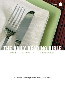 The Daily Reading Bible (Volume 12)