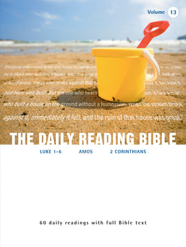 The Daily Reading Bible (Volume 13)