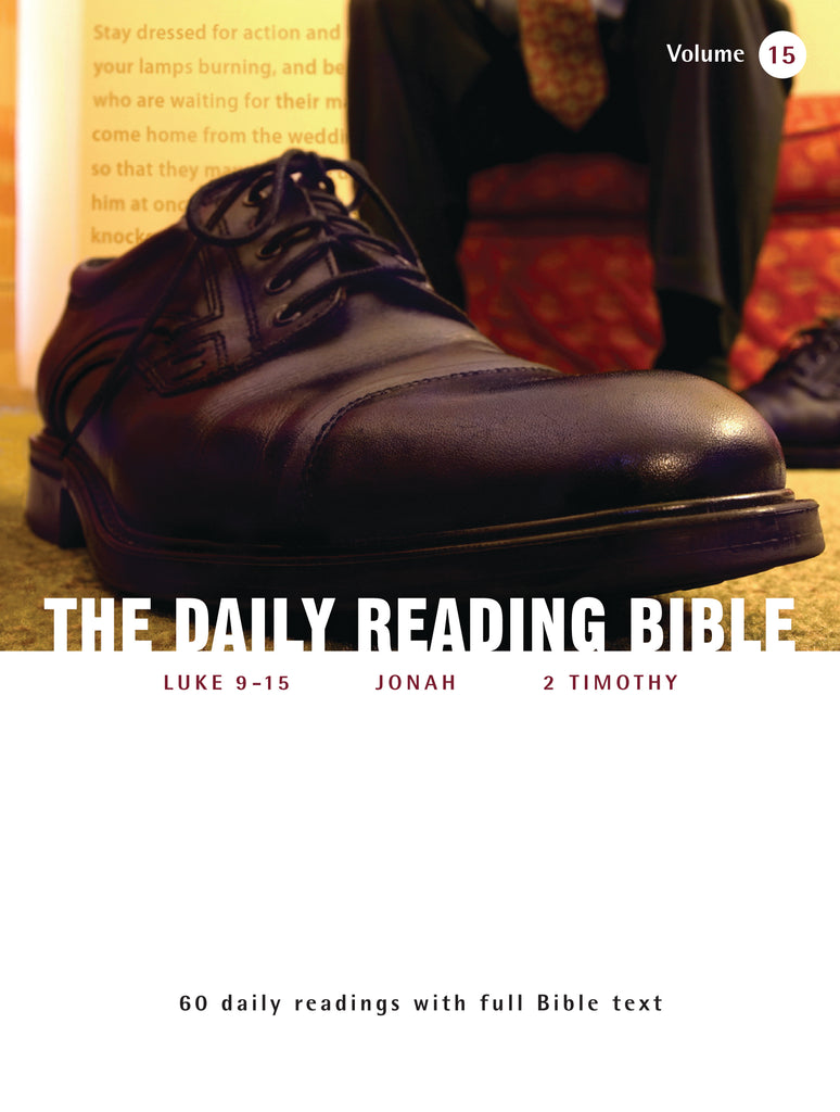 The Daily Reading Bible (Volume 15)