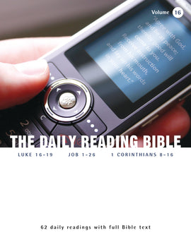 The Daily Reading Bible (Volume 16)