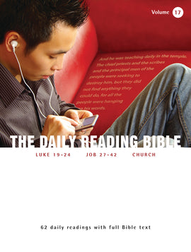 The Daily Reading Bible (Volume 17)