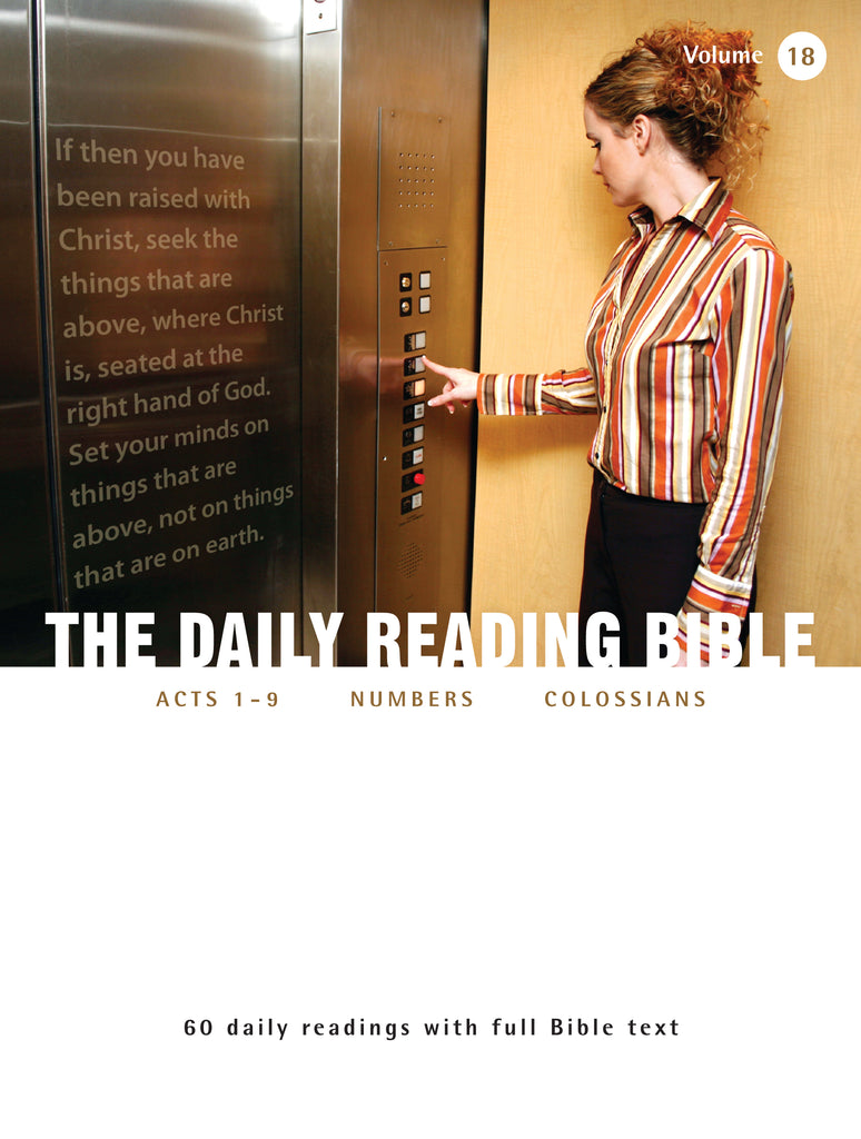The Daily Reading Bible (Volume 18)