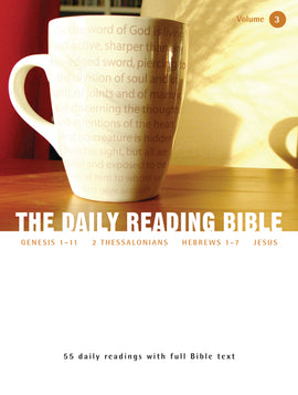 The Daily Reading Bible (Volume 3)