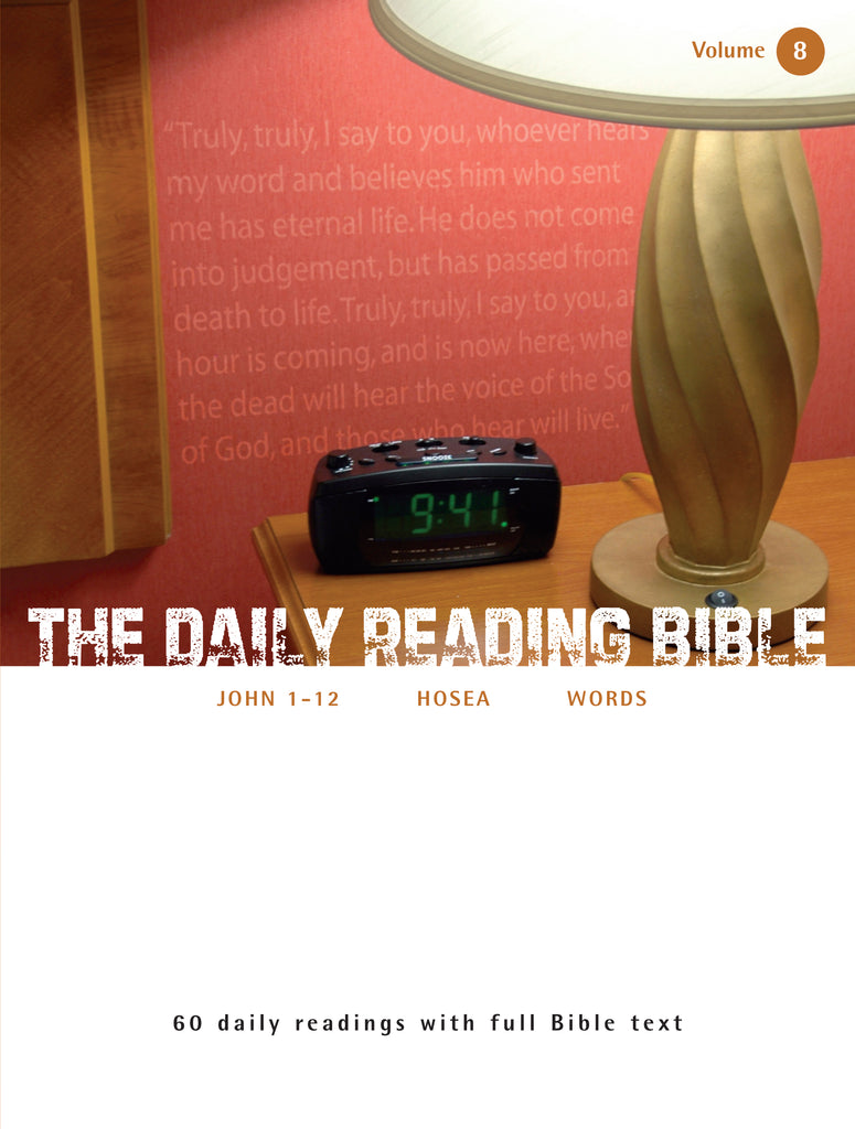 The Daily Reading Bible (Volume 8)