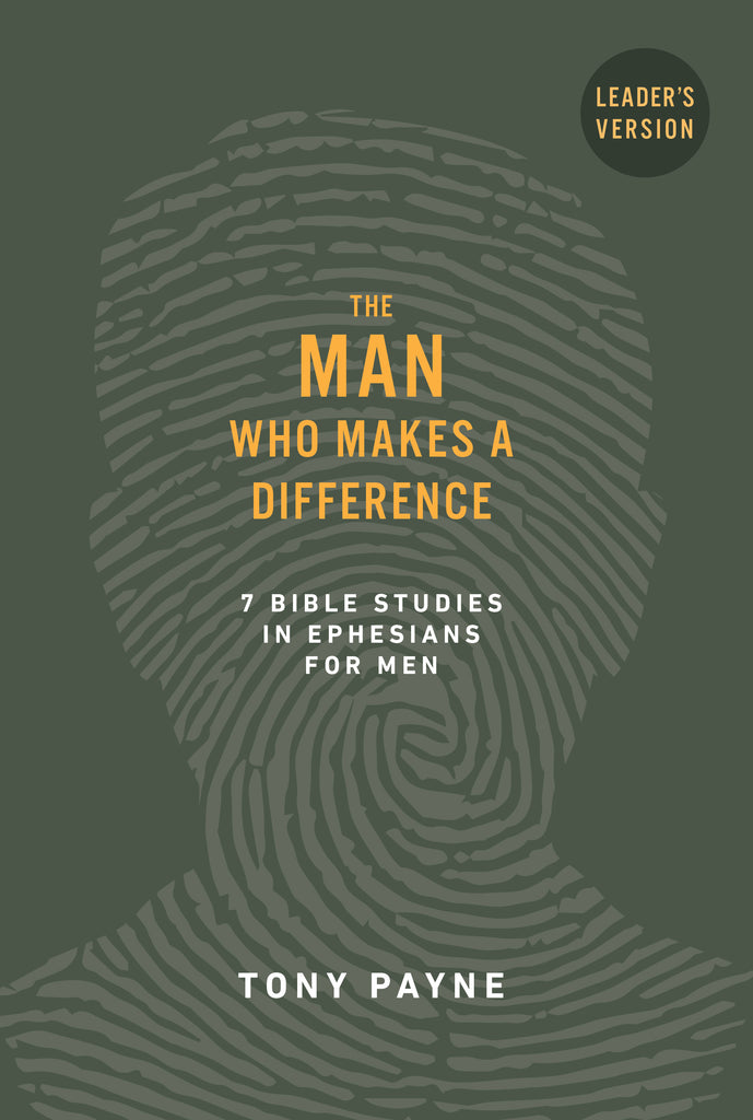 The Man Who Makes a Difference (leader's manual)