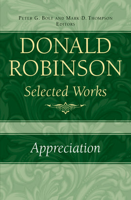 Donald Robinson Selected Works - Appreciation