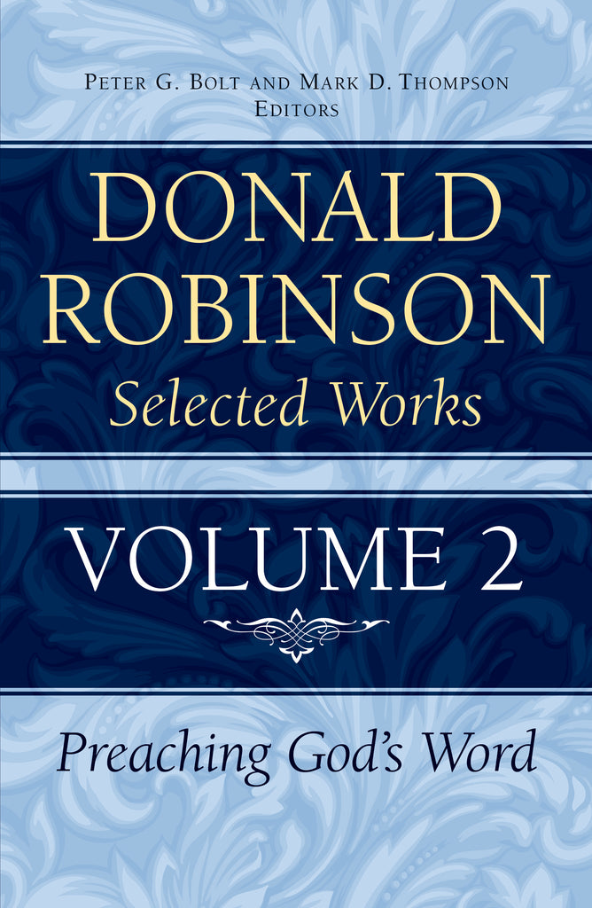 Donald Robinson Selected Works - Volume 2